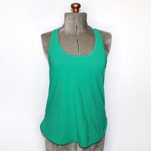 Lululemon Green Flowy Active Wear Tank Top